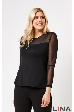 Блузка 41144 (черный)