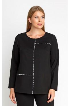 Блузка 4164 (черный)
