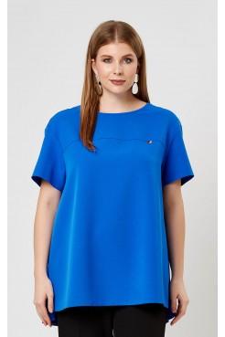 Блузка 4196 (синий)