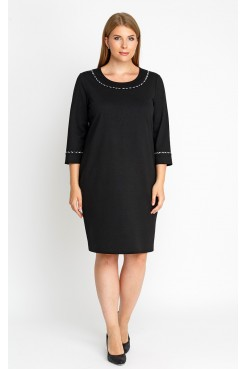 Платье 52100 (черный)