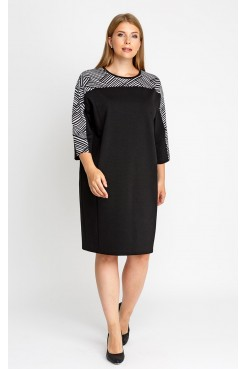 Платье 52120 (черный)