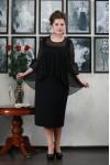 Платье Ангелина (черное)