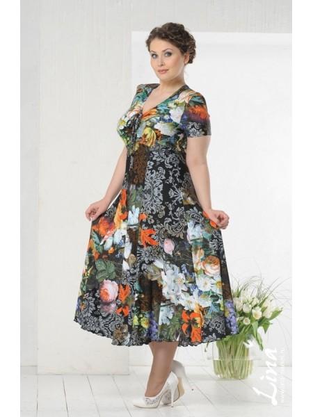 Платье Эсмеральда (розы)