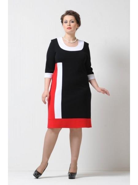 Платье Диор (красный)