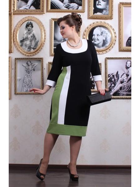 Платье Диор (фисташка)