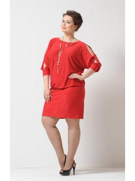 Платье Стелла (красное)