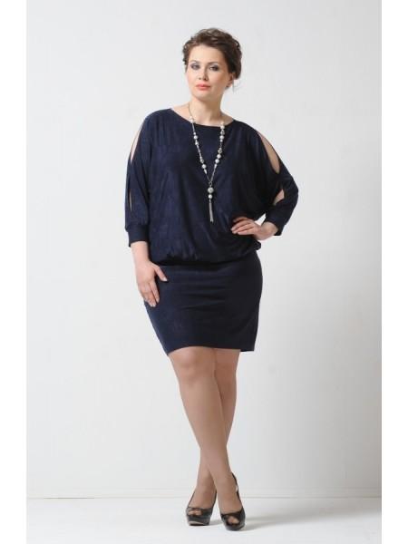 Платье Стелла (темно-синий)