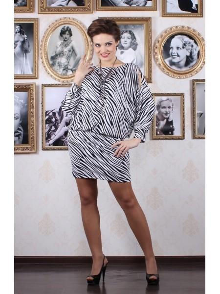 Платье Стелла (зебра)