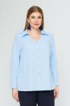 Блузка 4141 (голубой)