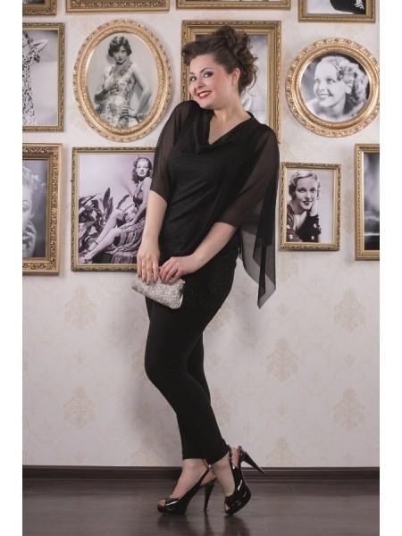 Блузка Колибри (черная)