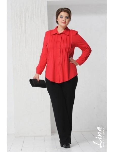 Рубашка Зарина (красная)