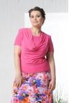 Блузка Качели 2 (розовый)