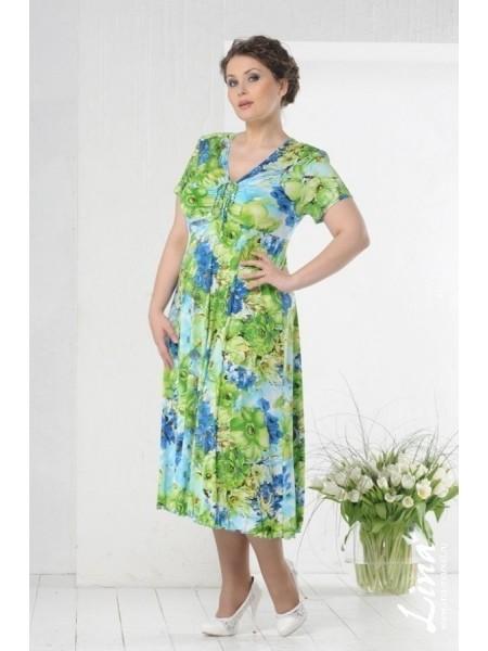 Платье Эсмеральда (зеленый шиповник)