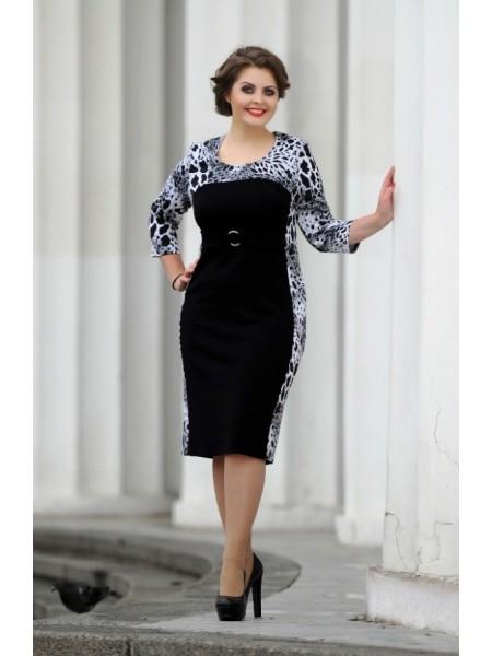 Платье Изольда (леопард)