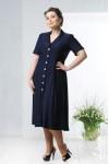 Платье Корсика (темно-синий)