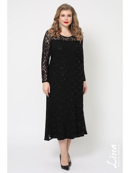 Платье Мадина (черный)