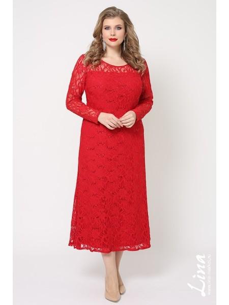 Платье Мадина (красный)