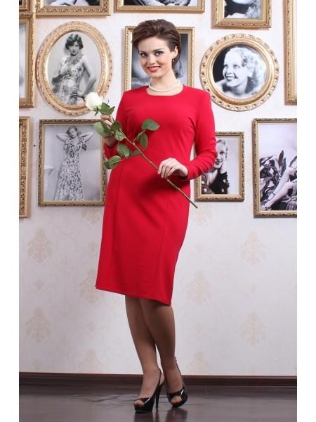 Платье Шанель (красное)