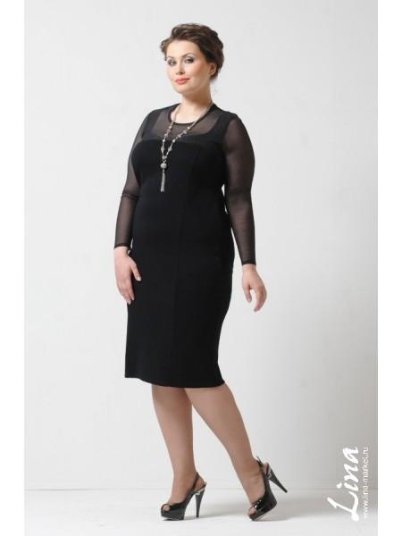 Платье Симона Блеск (черный)