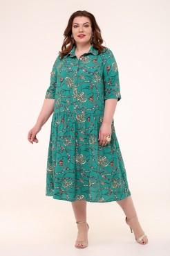 Платье Анелия (бирюза)
