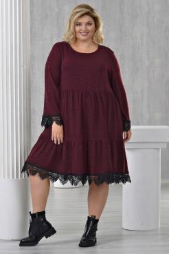 Платье Фиона (бордо)
