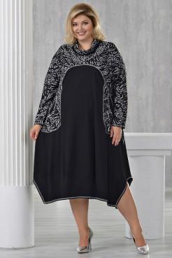 Платье Глициния черный