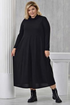 Платье Ангорка-2 (черный)