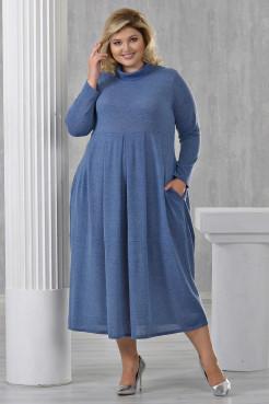 Платье Ангорка-2 (джинс)