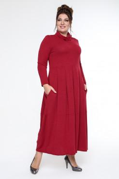 Платье Ангорка (красный)