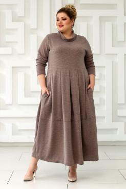 Платье Ангорка-2 (бежевый)