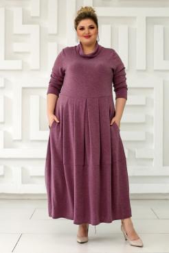 Платье Ангорка-2 (розовый)