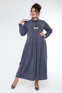 Платье Ангорка (джинс)