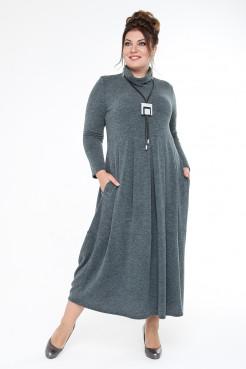Платье Ангорка (зеленый)