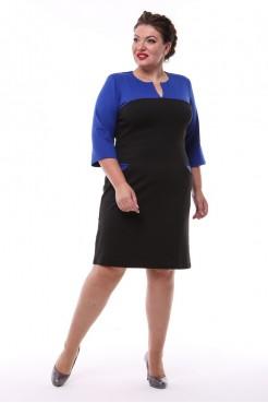 Платье Джина (синий)