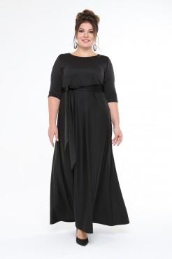 Платье Изумруд (черный)