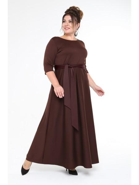 Платье Изумруд (шоколад)