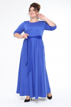Платье Изумруд (василек)