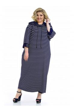 Платье Круиз (синий)