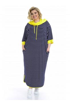 Платье Круиз 2 кант (желтый)