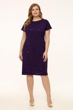 Платье Мишель (фиолет)