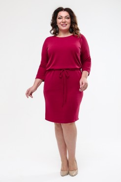 Платье Надин (красный)