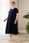 Платье Париж (синий)
