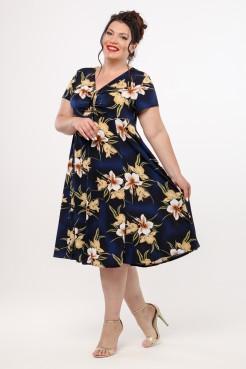 Платье Саманта (синий)