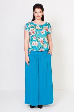 Платье Тиффани (сакура бирюза)