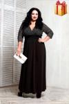 Платье 066801 (черный)