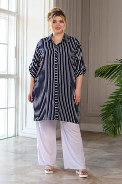 Рубашка Мальдивы (полоска крупная)