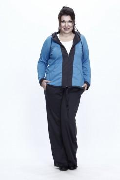 Спортивный костюм Весна (голубой/серый)