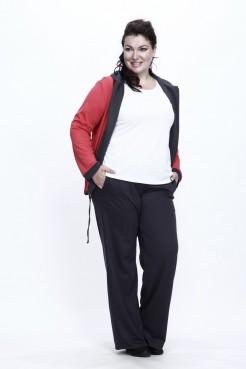 Спортивный костюм Весна тройка (коралл/серый)