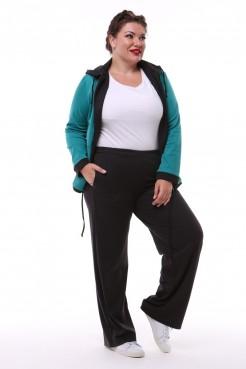 Спортивный костюм Весна тройка (бирюза/черный)