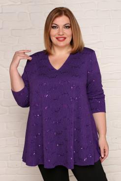 Туника Камелия (фиолетовый)